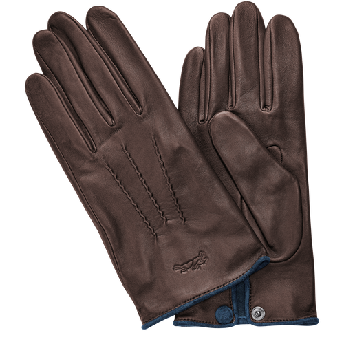 Men's gloves, Mocha - View 1 of  1 -