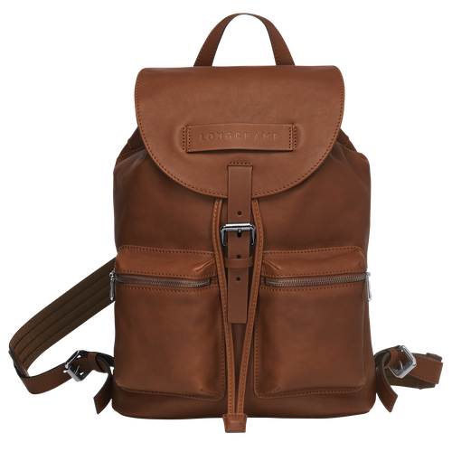 Backpack M, Cognac, hi-res - View 1 of 3