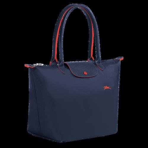 Shoulder bag L, Navy - View 2 of  5 -