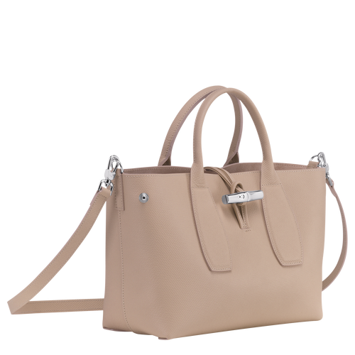 Top handle bag M, Sand, hi-res - View 3 of 5