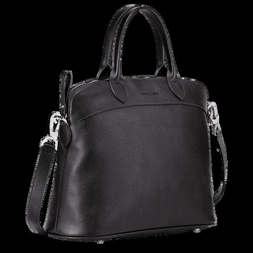 Top handle bag M, Black - View 2 of  3 -