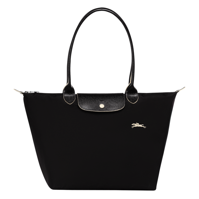 Le Pliage Club Shoulder bag L, Black