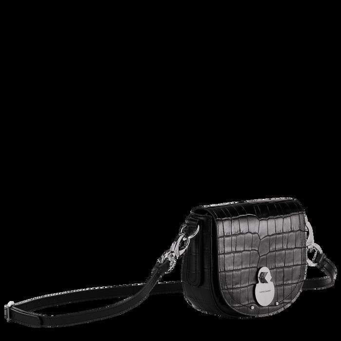 Bolso bandolera, Negro/Ebano - Vista 2 de 3 - ampliar el zoom