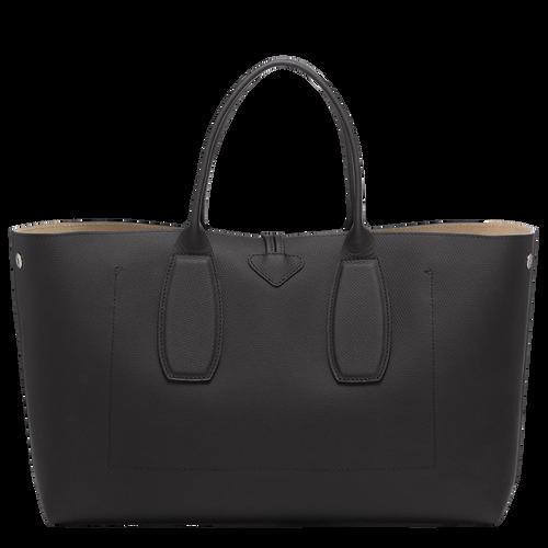 View 4 of Top handle bag L, Black, hi-res