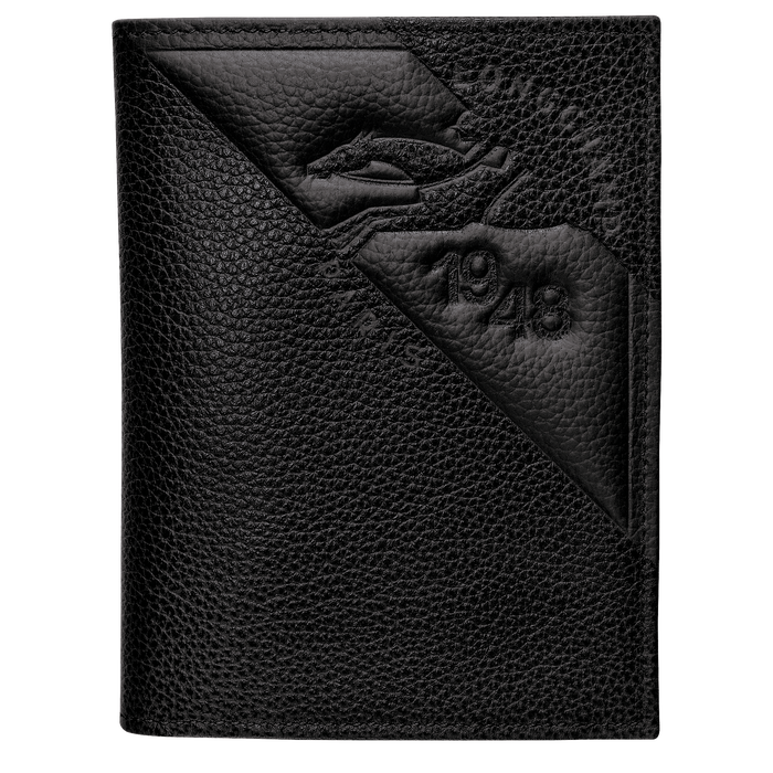 Porte-cartes, Noir/Ebène - Vue 1 de 2 - agrandir le zoom