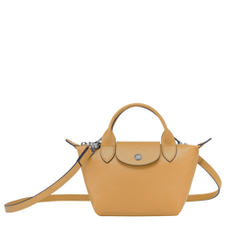 Top handle bag XS, Honey