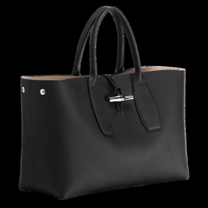 Top handle bag L, Black, hi-res - View 3 of 5