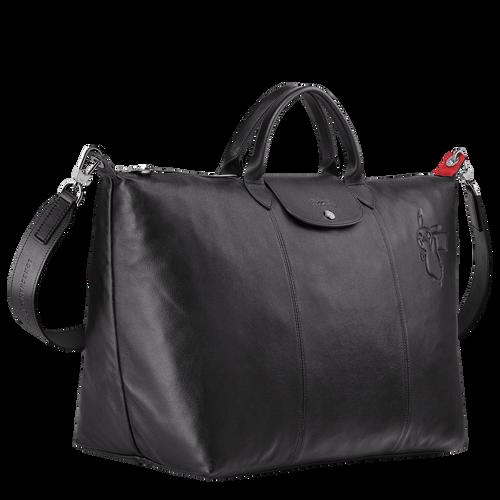 Bolsa de viaje L, Negro/Ébano - Vista 2 de 3 -