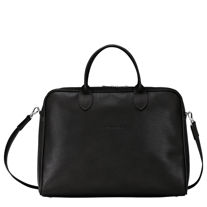 Briefcase L, Black - View 1 of  4.0 - zoom in
