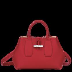 Top handle bag M, Red, hi-res