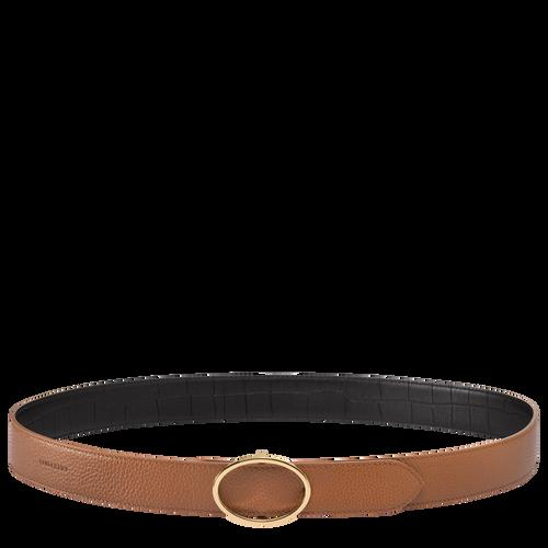 Le Foulonné Ladies' belt, Black