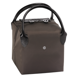 Handtasche S, E56 Taupe/Schwarz, hi-res