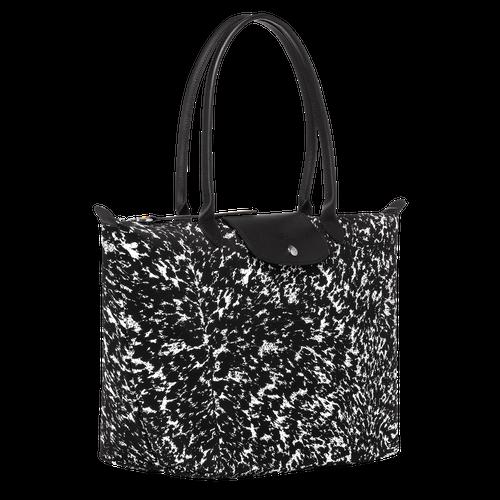 View 2 of Tote bag L, 067 Black/White, hi-res