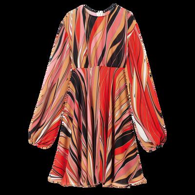 連身裙, 珊瑚紅色, hi-res