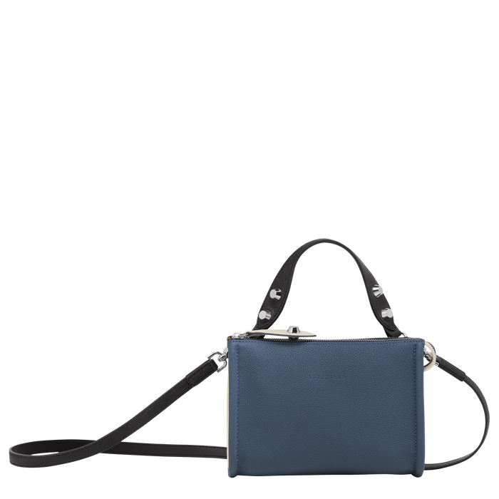 Crossbody bag, Pilot Blue/Black/Chalk, hi-res - View 1 of 3