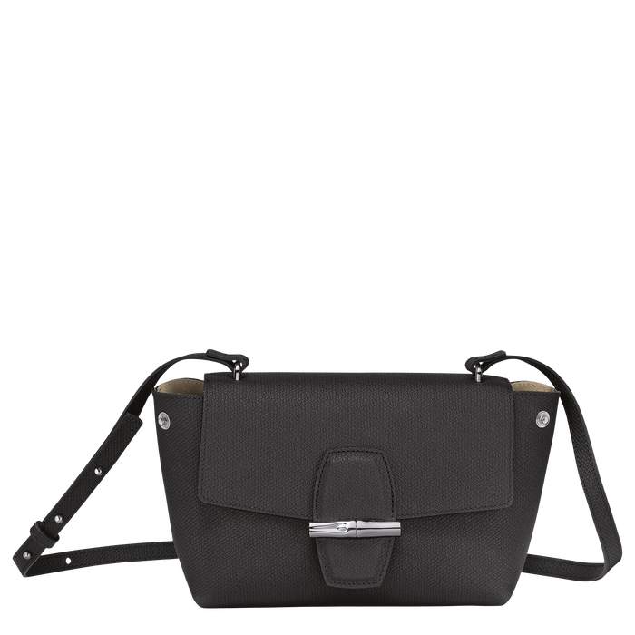 Crossbody bag S Roseau Black (10094HPN001) | Longchamp US
