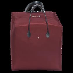 Top-handle bag L, E53 Burgundy/Black, hi-res