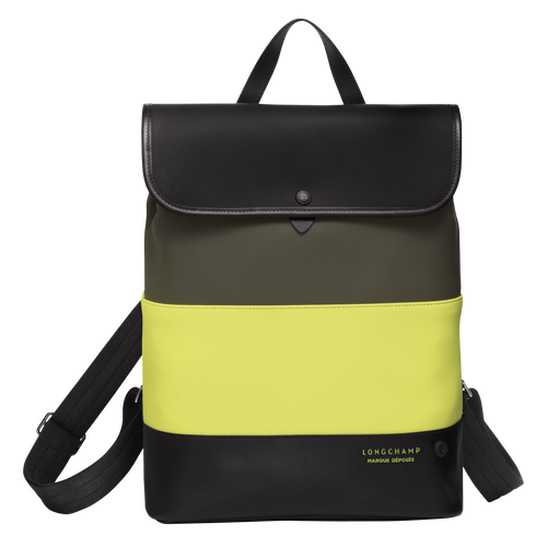 View 1 of Backpack, E84 Neon/Khaki, hi-res