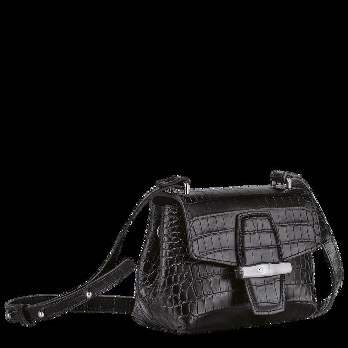 Crossbody bag S, Black/Ebony - View 3 of  4 - zoom in