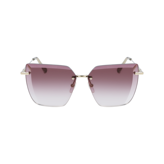 Fall-Winter 2020 Collection Sunglasses, Gold/Violet