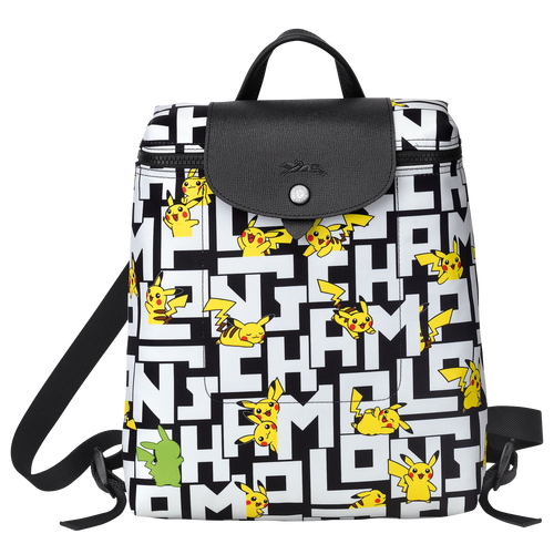 Backpack, Black/White - View 1 of  3 -