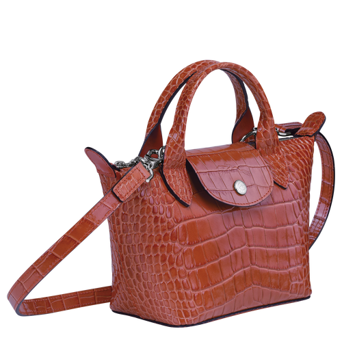 Top handle bag XS, Coral - View 2 of  3 -