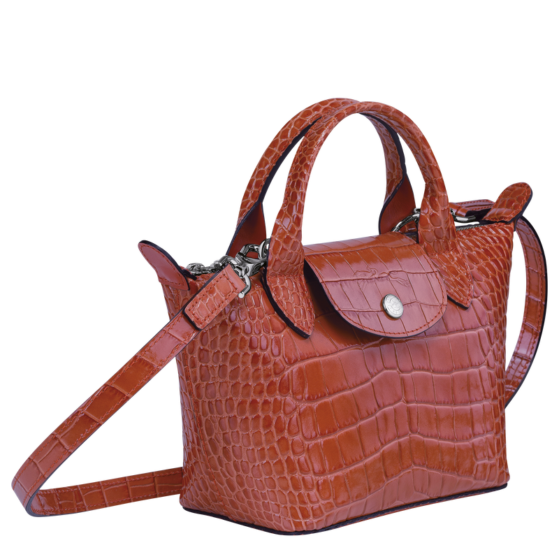 Top handle bag XS, Coral - View 2 of  3 - zoom in