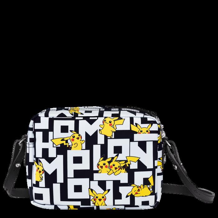 Crossbody bag, Black/White - View 3 of  3 - zoom in