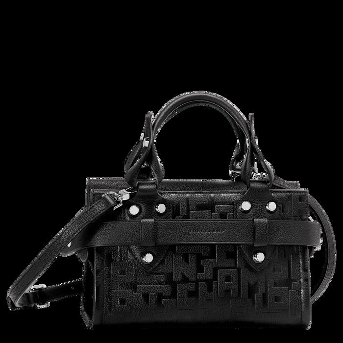 Top handle bag S, Black/Ebony - View 1 of  3 - zoom in