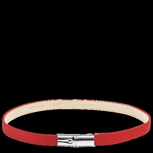 Ladies' belt, Red, hi-res - View 1 of 1
