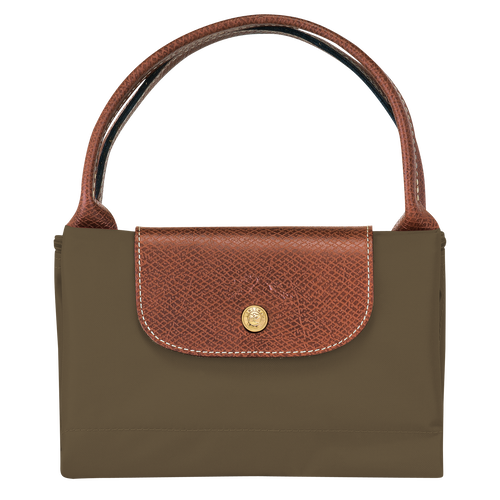 Top handle bag M, Khaki - View 4 of 4 -