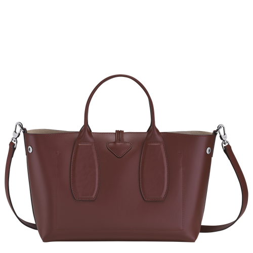 Roseau 手提包 M, 赤褐色