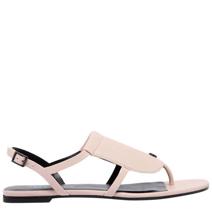 Flat sandals, Pale Pink - View 1 of 3 - zoom in