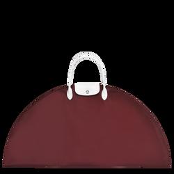 Bolso de mano L, E53 Burgundy/Black, hi-res