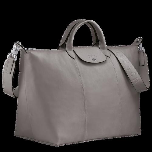Le Pliage Cuir Travel bag L, Turtledove
