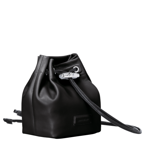Mini bucket bag, Black, hi-res - View 2 of 3