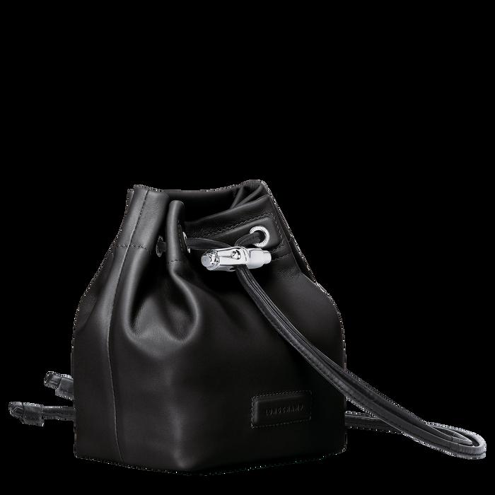 Mini sac seau, Noir, hi-res - Vue 2 de 3