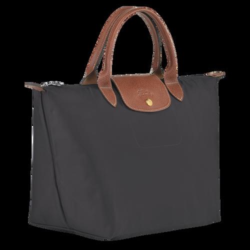 Top handle bag M Le Pliage Original Gun metal (L1623089300) | Longchamp US