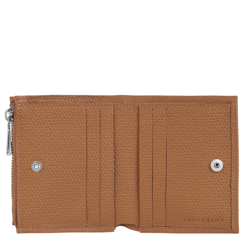 Roseau Compact wallet, Natural