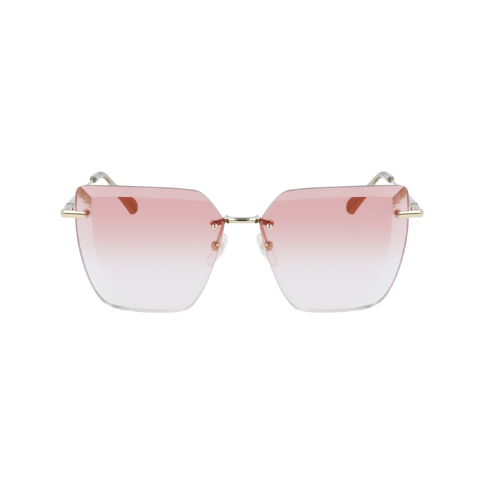 Fall-Winter 2020 Collection Sunglasses, Gold/Pink