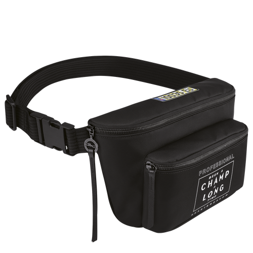 Longchamp x EU Belt bag, Black