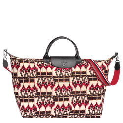 Ikat Travel bag L, 238 Ivory, hi-res