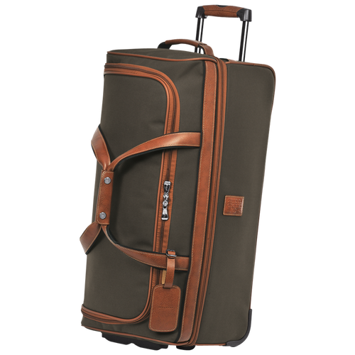 Wheeled duffle bag, Brown - View 2 of  3 -