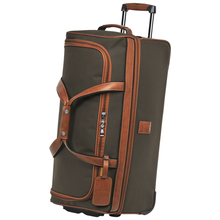 Wheeled duffle bag, Brown - View 2 of  3 - zoom in