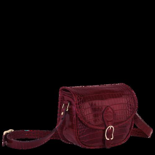 Crossbody bag S, Burgundy - View 2 of  3 -
