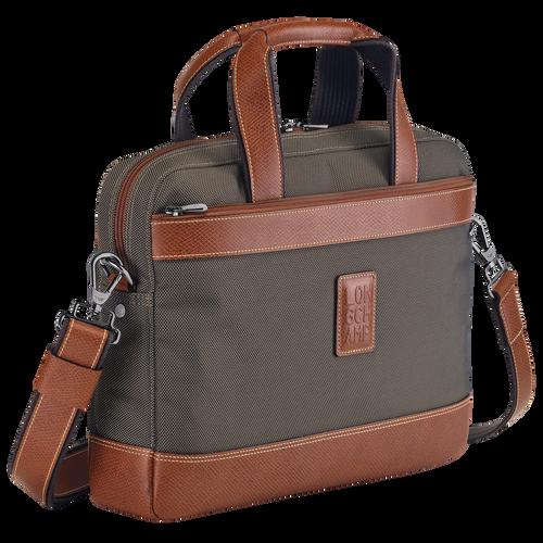 Briefcase S Boxford Brown (L1486080042) | Longchamp US