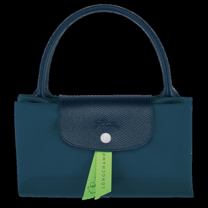 Le Pliage Green 手提包 M, 海洋色