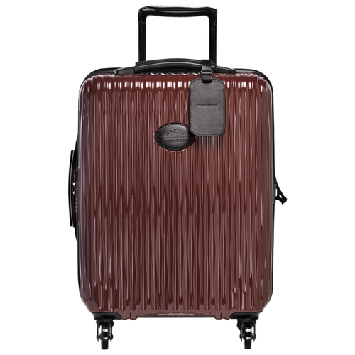 Small wheeled suitcase, A86 Black/Red lacquer, hi-res