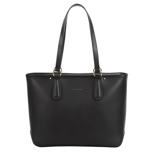 Zipped shopping bag, Black/Ebony - View 1 of  3 -