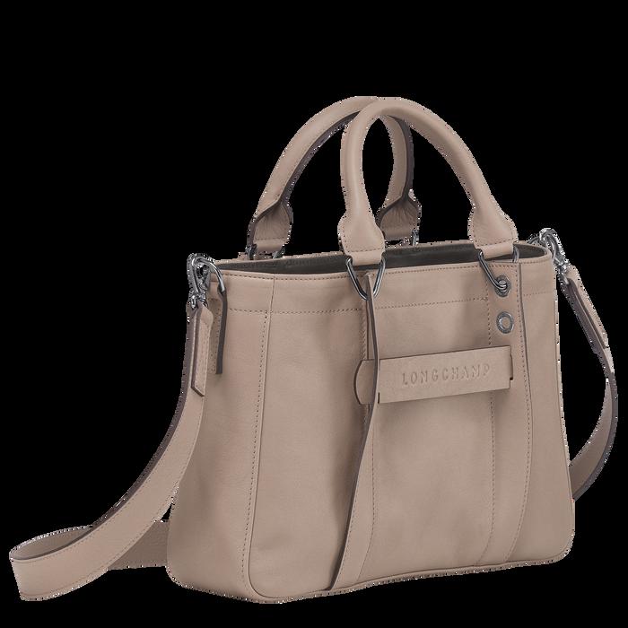 Longchamp 3D Sac porté main S, Vison
